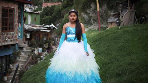 Brenda Lizeth Correa fue una de las quinceañeras retratadas. Su f...