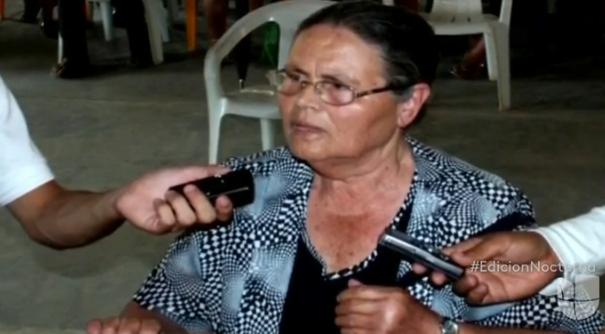 La señora Consuelo Loera no sufrió lesiones tras el ataque...