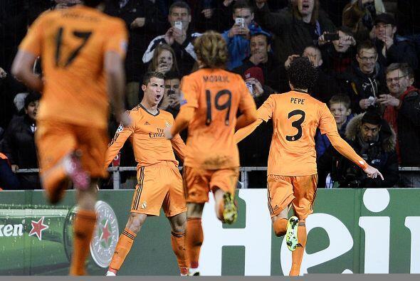 Y Cristiano Ronaldo, pese a fallar un penalti en la parte final del jueg...