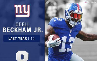 #8: Odell Beckham Jr. (WR, Giants) | Top 100 Jugadores 2017