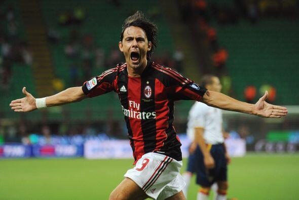 Y el eterno goleador Filipo Inzaghi cerró la cuenta, un contundente 4-0...