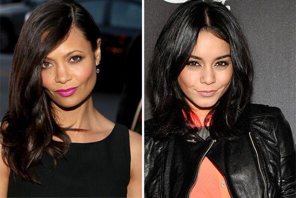 Vanessa Hudgens podría ser hija de Thandie Newton.  Aquí los videos más...