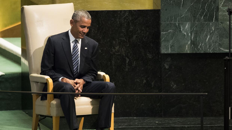 Este es uno de los looks con el que más se ha fotografiado a Barack Obama.