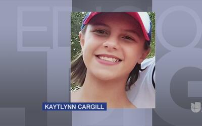 Comunidad dará el último adiós a Kaytlynn Cargill