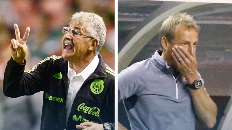 """Ricardo """"Tuca"""" Ferretti y Jürgen Klinsmann"""