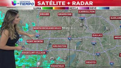 Ventana al Tiempo: Posibilidad de nieve y lluvias este viernes en horas de la madrugada en el Metroplex