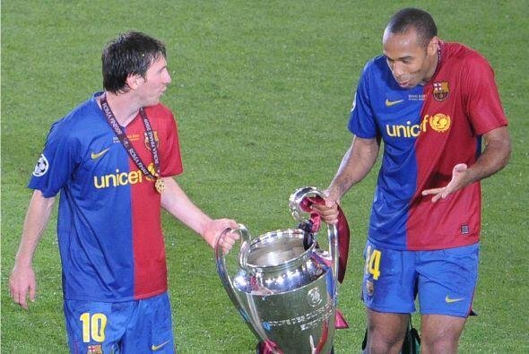 THIERRY HENRY | En 2008-09, Tití fue parte de un Barcelona mágico que ga...