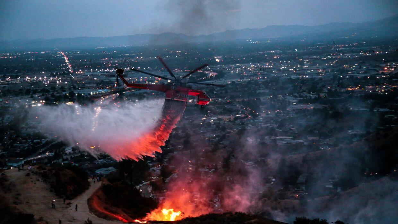 Imágenes de la devastación que dejan los incendios en California latuna1...