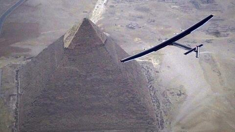 Solar Impulse está a punto de acabar su viaje alrededor del mundo sin un...