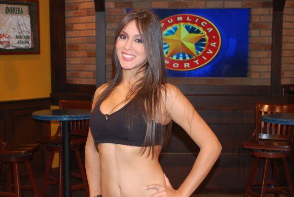 Nicaragua llegó a la final con esta sexy representante, Karla Jarquín.