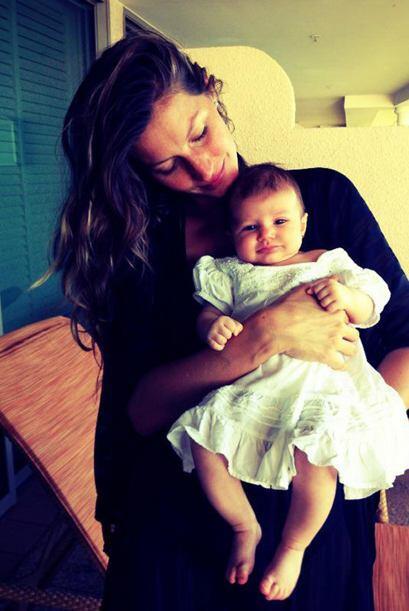 La 'top model' Gisele Bundchen en sus dos embarazos a dado muestras de s...