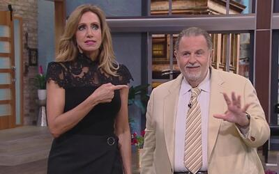 ¡Ouch! La suegra de Raúl de Molina fue impactada en la cabeza por una pe...