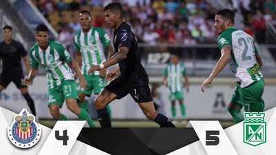 Chivas cerró su preparación en Estados Unidos con derrota ante Atlético Nacional