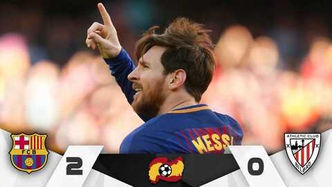 Leo marcó su gol número 25 en lo que va del certamen español.
