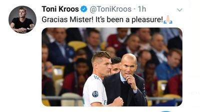 La renuncia de Zidane desata reacciones del mundo del fútbol en redes sociales