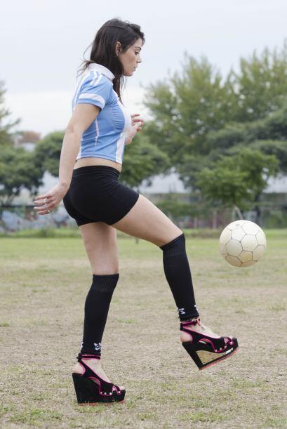 Muchos desearían jugar como ella lo hace.