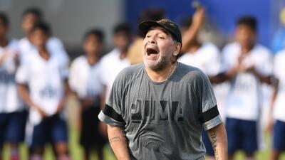 Maradona apuesta por el Gremio sobre el Real Madrid en la final del Mundial de Clubes