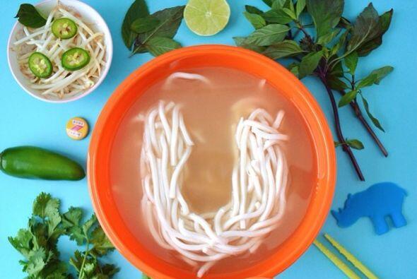 U is for Udon Noodles