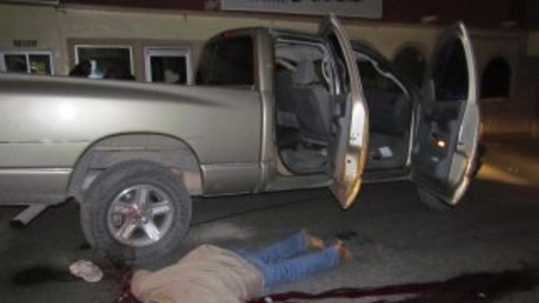 Ocho presuntos sicarios murieron este viernes en un enfrentamiento con m...