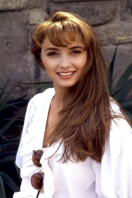 Mira a Angélica Rivera en los inicios de su carrera.