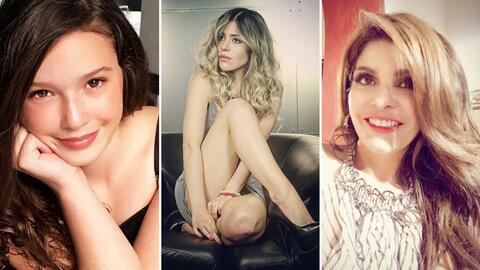 Mía Rubín, Nicole Vale e Itatí Cantoral interpretar...