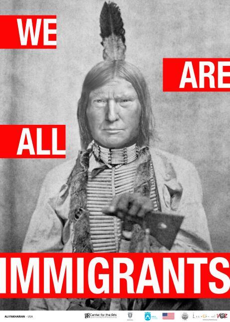 Exhibicion sobre inmigración en Chicago