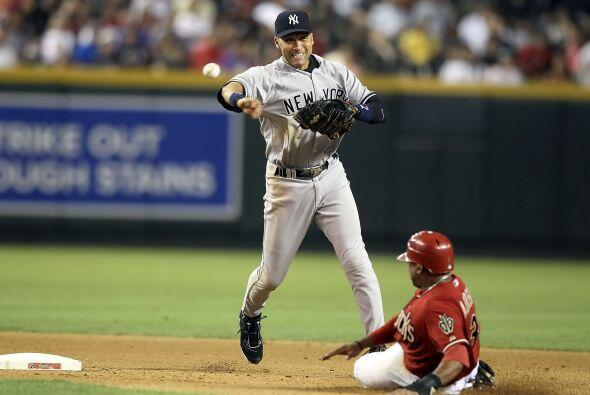 El símbolo de los Yankees, Derek Jeter, fue elegido por los afici...