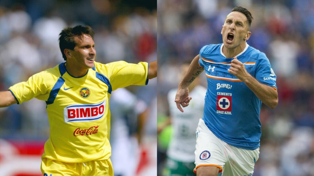 Figuras del fútbol mexicano que han pasado por América y Cruz Azul Getty...