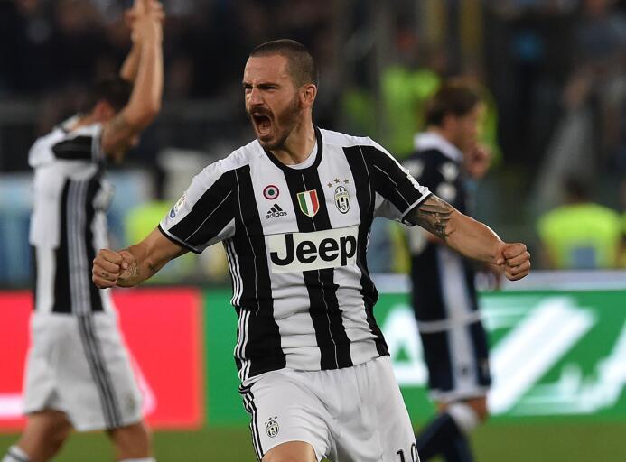 Mejor defensa: Leonardo Bonucci (Juventus F.C. - actualmente en el A.C....