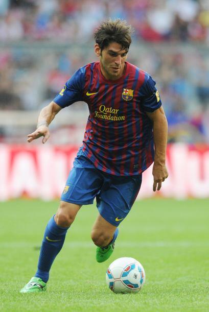 Otra posible salida que se diera en el Barcelona es la del atacante Jona...