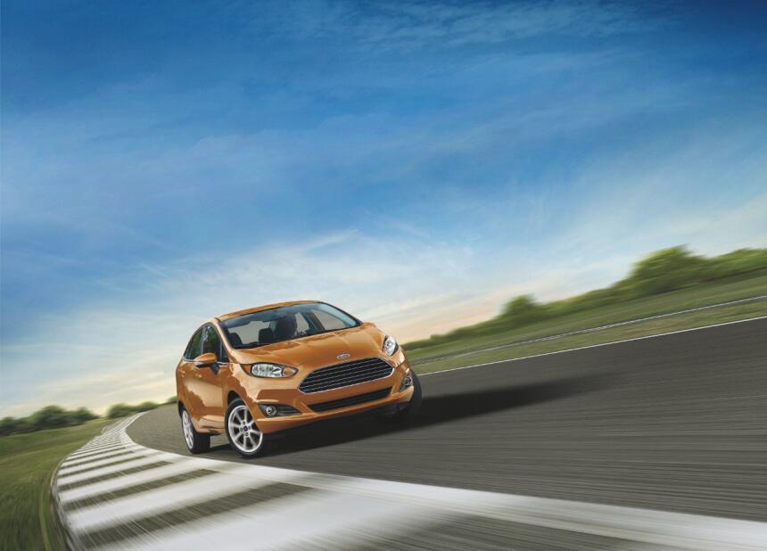 Puesto 4 – Ford Fiesta Sedan: El sedan más pequeño de la marca queda a l...