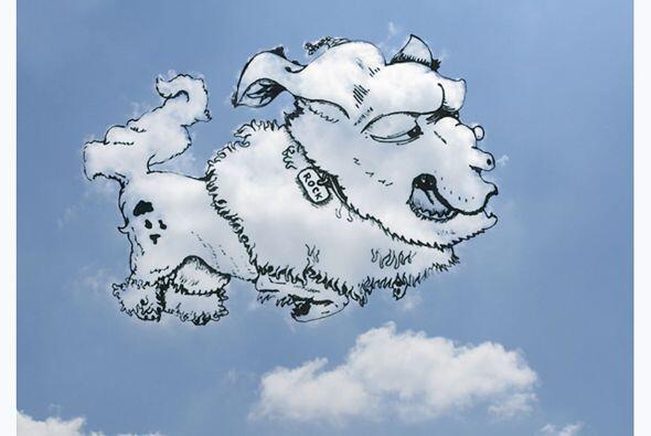 La historia contaba que  en el cielo existía un payaso experto en globos...