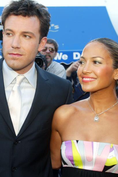 Ben y Jennifer estaban por estrenar las dos películas en las que habían...