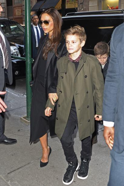 Pero Harper no fue la única de los hijos del matrimonio Beckhan q...