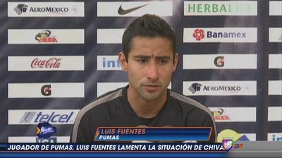 Luis Fuentes: ''Pumas puede dar mucho más''
