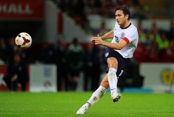 1.- Frank Lampard. El Futbolista inglés del New York City cobra la nada...