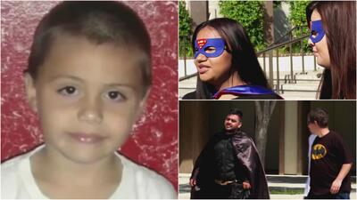 Vestidos de sus superhéroes favoritos, así fue el emotivo último adiós al niño Anthony Ávalos