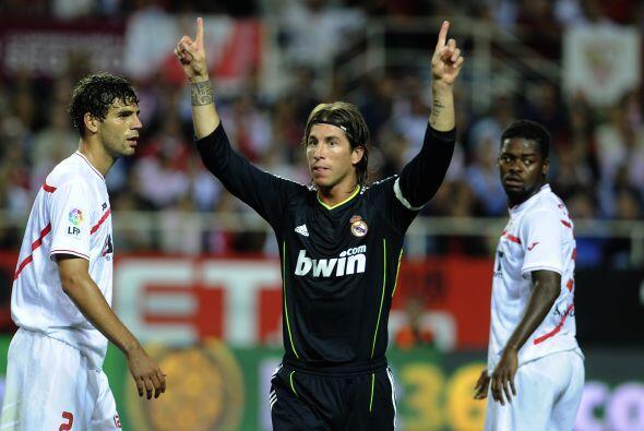 Con un gol, Ramos se hizo presente en el abultado marcador para el triun...
