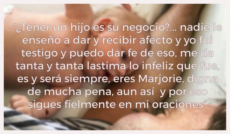 La más dura carta de la hermana de Julián Gil a Marjorie d...