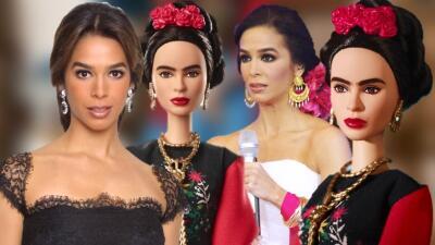 Querían hacer la Barbie de Frida Kahlo y les salió Bibi Gaytán (y estas fotos lo demuestran)