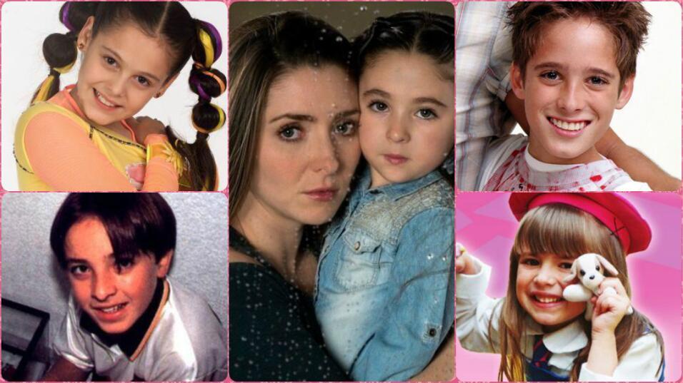 Los niños famosos de las telenovelas que nos robaron el corazón