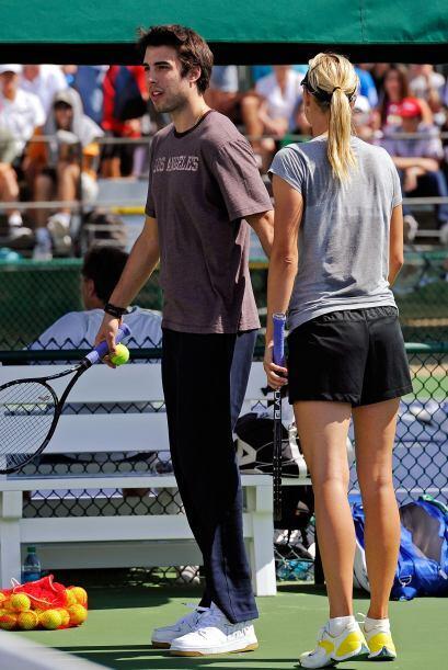 Un representante de Sharapova confirmó la 'buena nueva'.