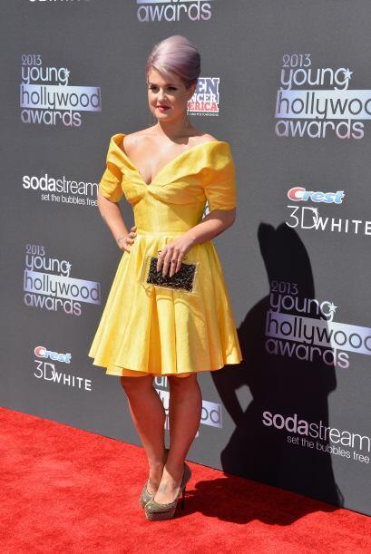 Se supone que Kelly Osbourne es toda una 'fashionista', pero a veces no...