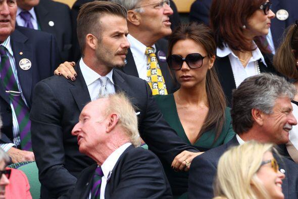 Los Beckham, como siempre, al último grito de la moda.
