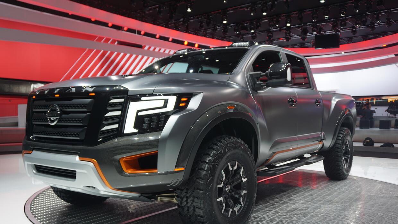 Nissan Titan Warrior Concept muestra el lado salvaje de la nueva Titan