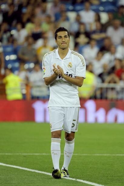 Y los futbolistas agradecían el apoyo de su gente.