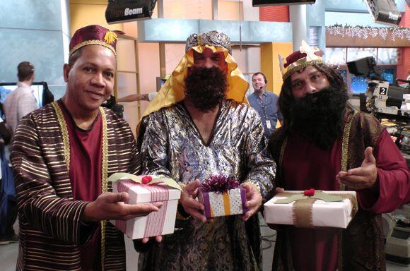 No cabe duda, los Reyes Magos le trajeron ese regalote al comediante.