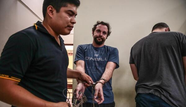 Dustin Kent está en prisión por presuntamente raptar a su hija en Perú