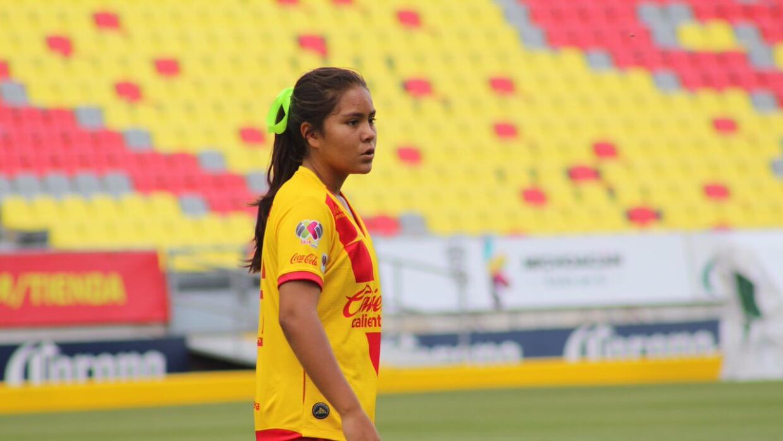 Layla Lucila De La Luz García Moreno debutó con 12 años en la Liga MX fe...