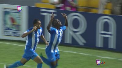 Darixon Vuelto anotó el gol que le dio ventaja a Honduras sobre Jamaica